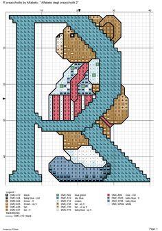 alfabeto degli orsacchiotti2: R