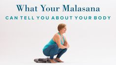 Malasana—also referred to as garland pose, or a deep squat is much easier for some than for others. Yoga Moves, Yoga Exercises, Hip Stretches, Iyengar Yoga, Ashtanga Yoga, Malasana Pose, Squat Workout, Restorative Yoga, Yoga Poses