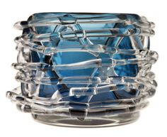 Bird's nest glass tealight holder from La Foofaraw. (Evans Caglage/The Dallas Morning News)