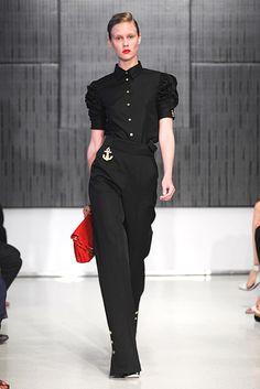 Saint Laurent Resort 2012 Fashion Show - Marike Le Roux