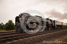The last steam engine made by Union Pacific rolls across the Nebraska railway system