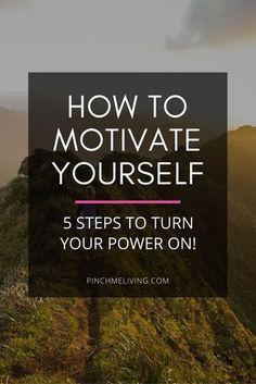 "How to get motivated - Here are 5 steps to not only ignite your motivation, but help you to sustain that motivation over time. There's nothing worse than ""fake motivation"" (motivation which is all hype and no substance, the kind that fizzles out really f"