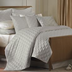 Barbara Barry Glamour Quilt - Sterling - Bed Bath & Beyond