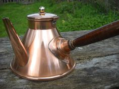 Guarantee Villedieu French Vintage Copper Chocolate Pot by NormandyKitchen, €50.00