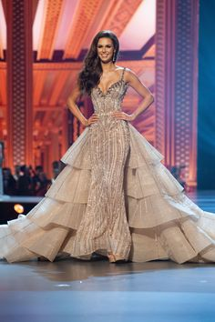 You can have custom dresses made that are inspired by Haute Couture Evening gowns by our fashion design firm. Pageant Dresses For Women, Beauty Pageant Dresses, Pagent Dresses, Pageant Wear, Pageant Gowns, Dance Dresses, Long Dresses, Miss Universe Dresses, Colored Wedding Dresses