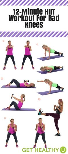 So you want to do some High Intensity Interval Training (HIIT) but your knees are in tough shape? Try this workout!