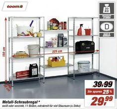 Metall-Schraubregal * | toom Baumarkt