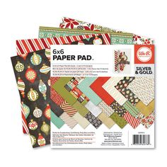 Silver & Gold 6x6 Pad $3.39