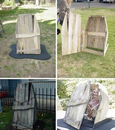 Halloween Decor  Art of Upcycling: 20 DIY Wood Pallet Reuse Project Ideas |
