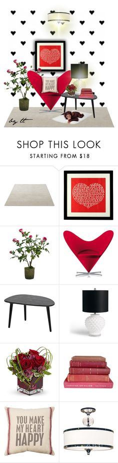 """""""Monkey Love...by tt"""" by fowlerteetee ❤ liked on Polyvore featuring interior, interiors, interior design, home, home decor, interior decorating, Alexander Girard, Sia, Vitra and Broste Copenhagen"""