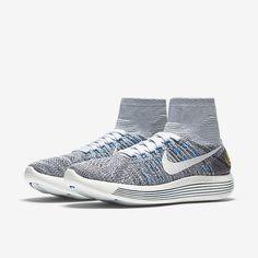 The Nike LunarEpic Flyknit (Boston 2016) Women's Running Shoe.