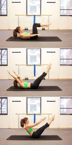 10 of the best pilates moves for flat abs