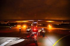 Solar Impulse 2 after a successful #TestFlight in #Payerne #Switzerland!