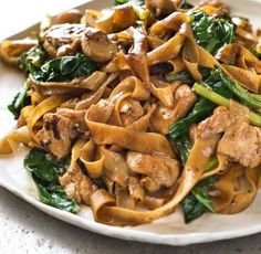 Thai Stir Fried Noodles (Pad See Ew) | Food Recipes