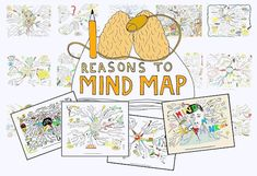 100 Reasons to Mind Map: what a great inspiration for Mind-Mapping App-tivities Inquiry Based Learning, Project Based Learning, Mind Map App, Mind Maps, Creative Mind Map, Higher Order Thinking, 21st Century Learning, Blooms Taxonomy, Sketch Notes