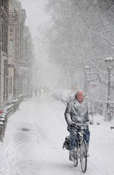 All sizes | fietsen in de sneeuw (snow cycling) | Flickr - Photo Sharing!