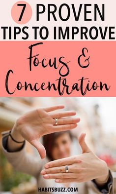 Do your thoughts go in different directions when you want to finish a job? When you lack focus and concentration, it is hard to complete your tasks on time. Here is an article on how to increase focus and concentration and achieve amazing results. Focus At Work, Focus On Your Goals, Focus On Yourself, Natural Remedies For Arthritis, Natural Remedies For Anxiety, Herbal Remedies, Health Remedies, How To Focus Better, Exams Tips