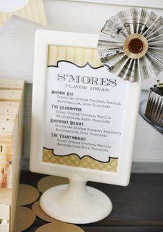 S'mores bar - s'more recipes