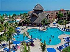 Playa Del Carmen - Sandos Playacar Beach Resort and Spa - All-Inclusive Mexico Honeymoon, Mexico Vacation, Vacation Deals, Vacation Resorts, Vacation Places, Best Vacations, Beach Resorts, Hotels And Resorts, Vacation Spots
