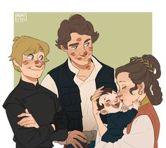 SOLO AND SKYWALKERS❤❤❤