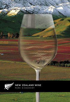 New Zealand Wine. Gosh, I love wine!
