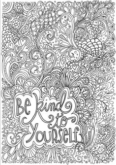 Printable Difficult Coloring Page Make your world more colorful with free printable coloring pages from italks. Our free coloring pages for adults and kids. Quote Coloring Pages, Printable Adult Coloring Pages, Coloring Sheets, Coloring Pages For Kids, Coloring Books, Mandala Art, Art Textile, Mandala Coloring, To Color