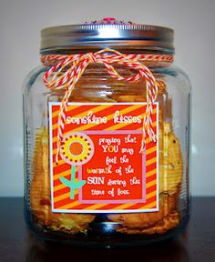 Sympathy gifts hugs loss of loved one condolences by yaccogifts sympathy gifts homemade cookie jar solutioingenieria Gallery