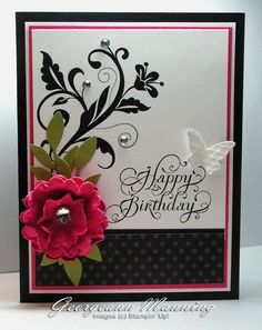 Stampin' Everything!: It's All Black and White