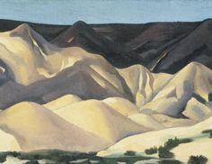 Near Abiquiu, New Mexico II (1930) by Georgia O'Keeffe