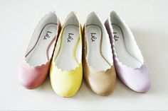 cute scallop flats! from HEBE Manila