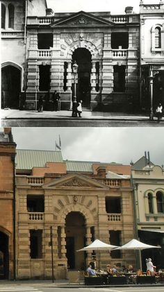 No 4 Police George St, The Rocks 1890 - (Foreshore Authority… South Australia, Western Australia, The Rocks Sydney, Then And Now Photos, Police Station, Historical Pictures, Tasmania, Cape Town, Southeast Asia