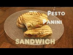 Pesto Panini Sandwich Recipe | Vegan - Cooking Videos | Lunch or dinner recipes - YouTube