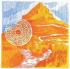 Silkscreen prints of Table Mountain by Kitty Dorje Table Mountain, Silk Screen Printing, Online Art Gallery, Fine Art Paper, African, Kitty, Drawings, Artist, Artwork