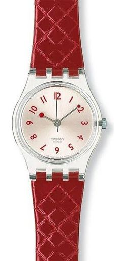 $54 Swatch Watches - Strawberry Jam Ladies Watch