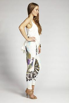 New Camilla Franks Lost Garden Babylon Stretch Leggings OSFM Free Post | eBay