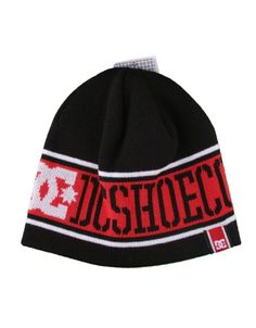 5bc220e53b6 DC Shoes USA Black Beanie