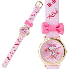 Hello Kitty Wrist Watch for Kids DX Deluxe Ribbon SANRIO JAPAN Online Shop / Online Store - 01