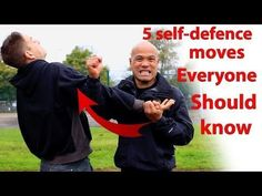 5 Self Defence moves everyone should know Wing Chun martial arts master teaches 5 Self Defence moves everyone should know. Real Martial Arts Master teaches s. Krav Maga Techniques, Fight Techniques, Martial Arts Techniques, Self Defense Techniques, Krav Maga Self Defense, Self Defense Moves, Self Defense Martial Arts, Martial Arts Training, Aikido