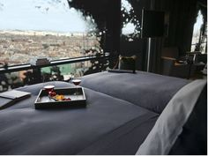 Oh, Barcelona! Enjoying a tower hotel that provides an inner paradise is all that a traveler could ask for! Visit Barcelona, Barcelona Hotels, Jean Nouvel, Jacuzzi, Hotel Plaza, Room Reservation, Piscina Interior, Renaissance Hotel