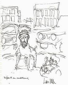Lars Vilks Muhammad drawings controversy - Wikipedia, the free encyclopedia