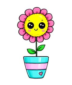 Griffonnages Kawaii, Kawaii Disney, Cute Disney, Kawaii Girl Drawings, Cute Cartoon Drawings, Cool Drawings, Cartoon Illustrations, Easy Drawings For Kids, Cute Little Drawings