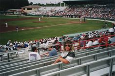 Jack Russell Stadium, Clearwater, Florida. Spring training home of the Philadelphia Phillies. ... 1997