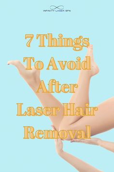 7 Things To Avoid After Laser Hair Removal - Infinity Laser Spa NYC Top Skin Care Products, Skin Care Tips, Infinity Laser Spa, Putting On Makeup, Beauty Spa, Laser Hair Removal, Good Skin, Healthy Skin, Sensitive Skin