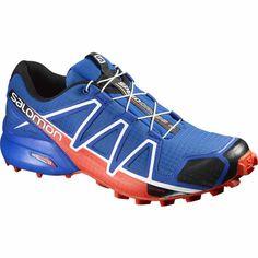 Speedcross 4 Trail Running Shoes Blue Yonder/Lava Orange