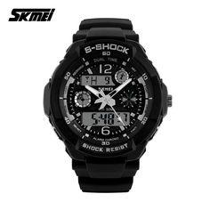 2016 SKMEI 0931 Luxury Brand S Shock Men Military Sports Watches Digital LED Quartz Wristwatches rubber strap relogio masculino