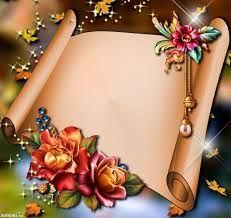Autumn New By Imikimi Com Pergamene Flower Frame Birthday Photo Frame, Birthday Frames, Love Pink Wallpaper, Flower Wallpaper, Molduras Vintage, Page Borders Design, Photo Frame Design, Border Embroidery Designs, Image 3d