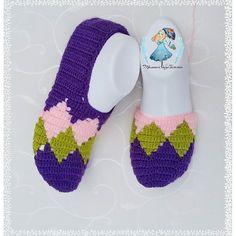 Crochet Shoes, Crochet Slippers, Crochet Bags, Crochet Patterns, Batik, Google, Instagram, Fashion, Slippers