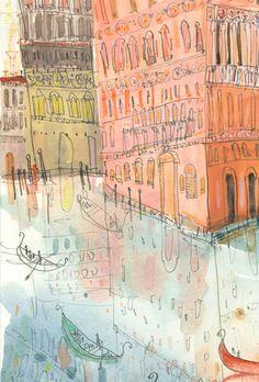 """Clare Caulfield: """"Venice"""""""