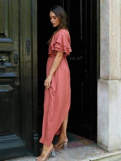 Nuum Brave Ankle Coral Flow :: QOMO Oslo Oslo, Brave, Duster Coat, Coral, Ankle, Jackets, Fashion, Moda, Wall Plug