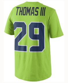 3d6bfdd1c Nike Men Earl Thomas Iii Seattle Seahawks Color Rush Name   Number T-Shirt